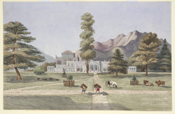 The British Residency, Kathmandoo, Nepal. March 1850